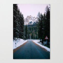 TWIN PEAKS Canvas Print