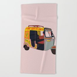 Ride with the Mob Beach Towel