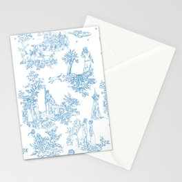 Toile du Moi Stationery Cards