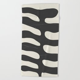 Abstract Plant 2 Beach Towel