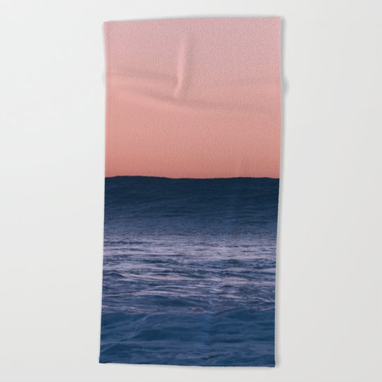 Dark Wave Beach Towel