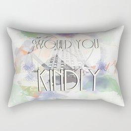 Would You Kindly - Bioshock Rectangular Pillow