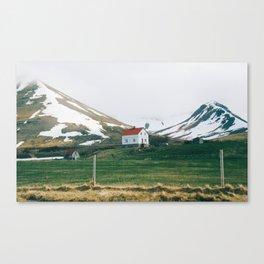 Vestfirðir IV Canvas Print