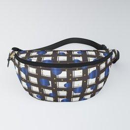 Traditional Japanese pattern ARARE-KOMON x KOMOCHI-BENKEI-GOUSHI Fanny Pack
