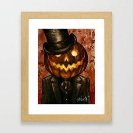 Dapper Jack Framed Art Print