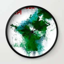 PK Flooding Wall Clock