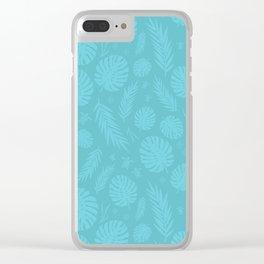 Palm & Sea Clear iPhone Case