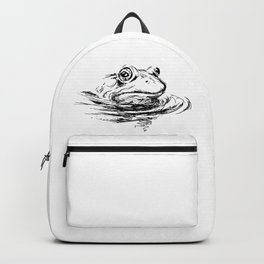 Head of the frog Backpack