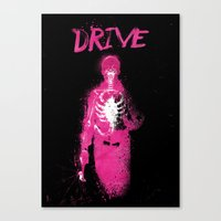 drive Canvas Prints featuring Drive by Dan K Norris