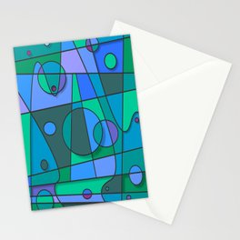 Abstract #75 Stationery Cards