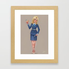 Claire from Dager 5 Framed Art Print