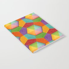 Geometric Rainbows Notebook