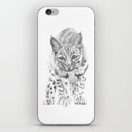 On the Prowl :: A Young Bobcat iPhone Skin