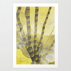 ANCIENT FUTURES Art Print