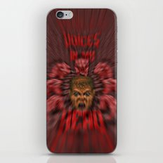 Voices in my head iPhone & iPod Skin