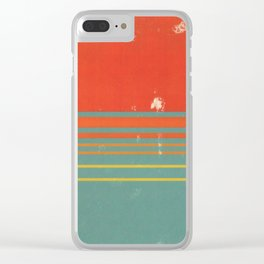 Sunset Clear iPhone Case