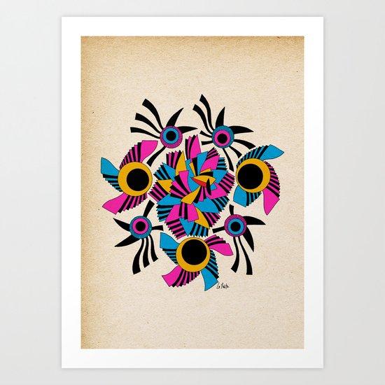 - rose - Art Print
