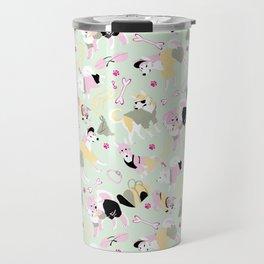 Spitz Style Pink Travel Mug
