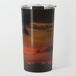 A Sky On Fire - 2 Travel Mug