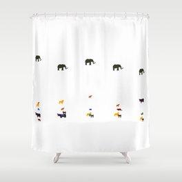 Serengeti March Shower Curtain
