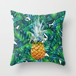 pineapple 2 Throw Pillow