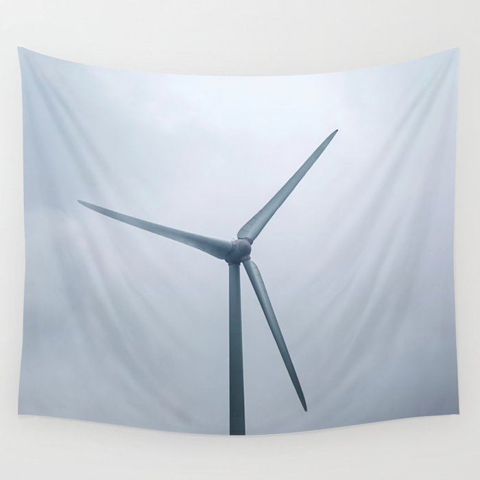 Wind generator Wall Tapestry by nemke