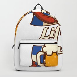 Life Is Brewtiful - Home Brewing Backpack