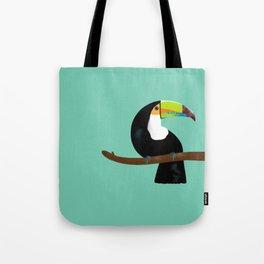 Toucan green Tote Bag