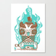 Good to the Last Drop - Chocqua Owl Canvas Print