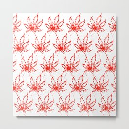 Panama Red Metal Print