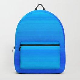 Blue Sea Stripes Backpack