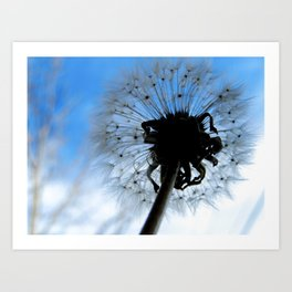 SOFT AND PUFFY DREAMS Art Print