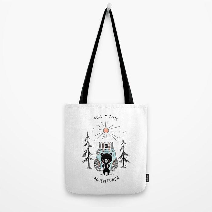 Adventure Bear Tote Bag