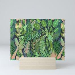 Dark Jungle Mini Art Print