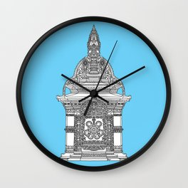 The Temple of Sarpachandra Wall Clock