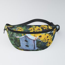 Birdhouse in the Garden Fanny Pack