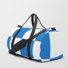 Flag of Dalfsen Duffle Bag