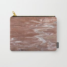 Texture Landscape at Petrified Forest National Park Carry-All Pouch