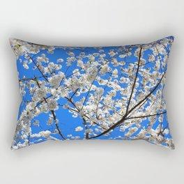 Cherry Blossoms in DC Rectangular Pillow