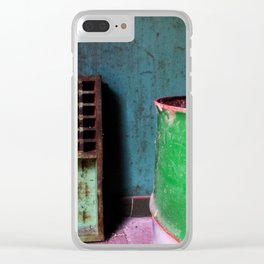 Abandoned XII Clear iPhone Case
