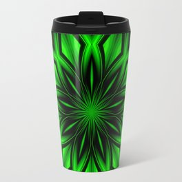 Mandala Green 6 Travel Mug