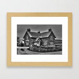 House @ Gunwaloe Framed Art Print