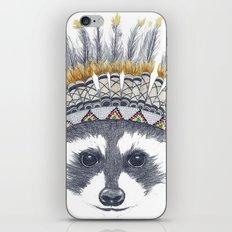 Festivale Raccoon iPhone Skin