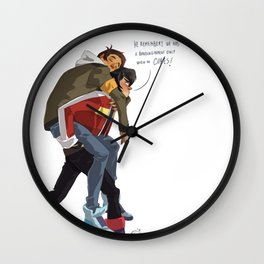 Klance at early stages! Wall Clock