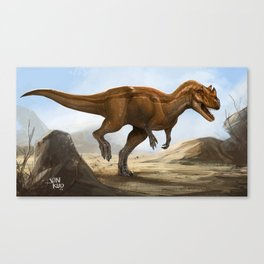 ceratosaurus Canvas Print