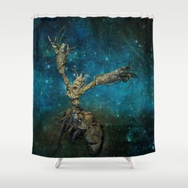 Last frontier Shower Curtain