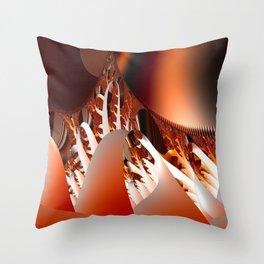 Wildfire Throw Pillow