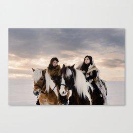 Le Voyage des soeurs Koizumi Canvas Print