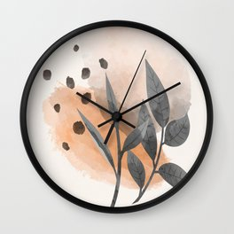 Modern Abstract Art IV  Wall Clock