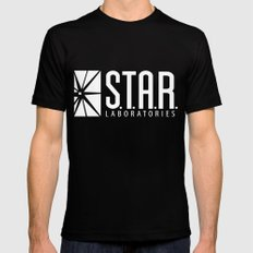 star lab Mens Fitted Tee Black LARGE
